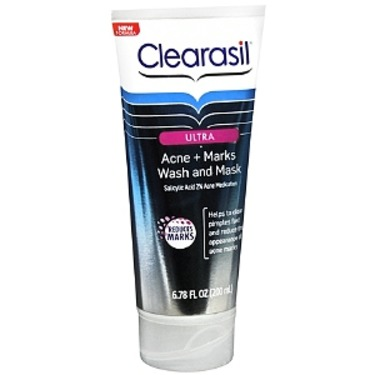 Clearasil Ultra Acne & Marks Wash and Mask