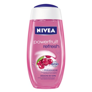 NIVEA Powerfruit Refresh Shower Gel Cranberry & Goji