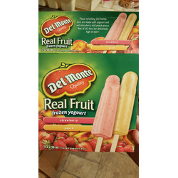 Del Monte Real Fruit Ice Pops