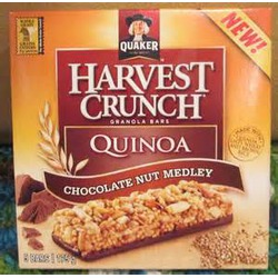 Quaker Harvest Crunch Quinoa Bar