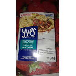 Yves Veggie Cuisine Meatless Ground Round Original