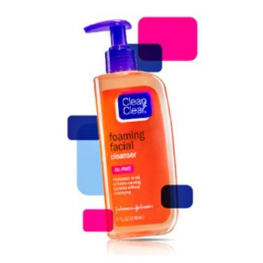Clean & Clear Foaming Facial Cleanser