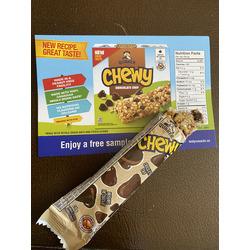 Quaker Chocolate Chip Granola Bars