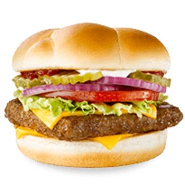 Wendy's Single Burger