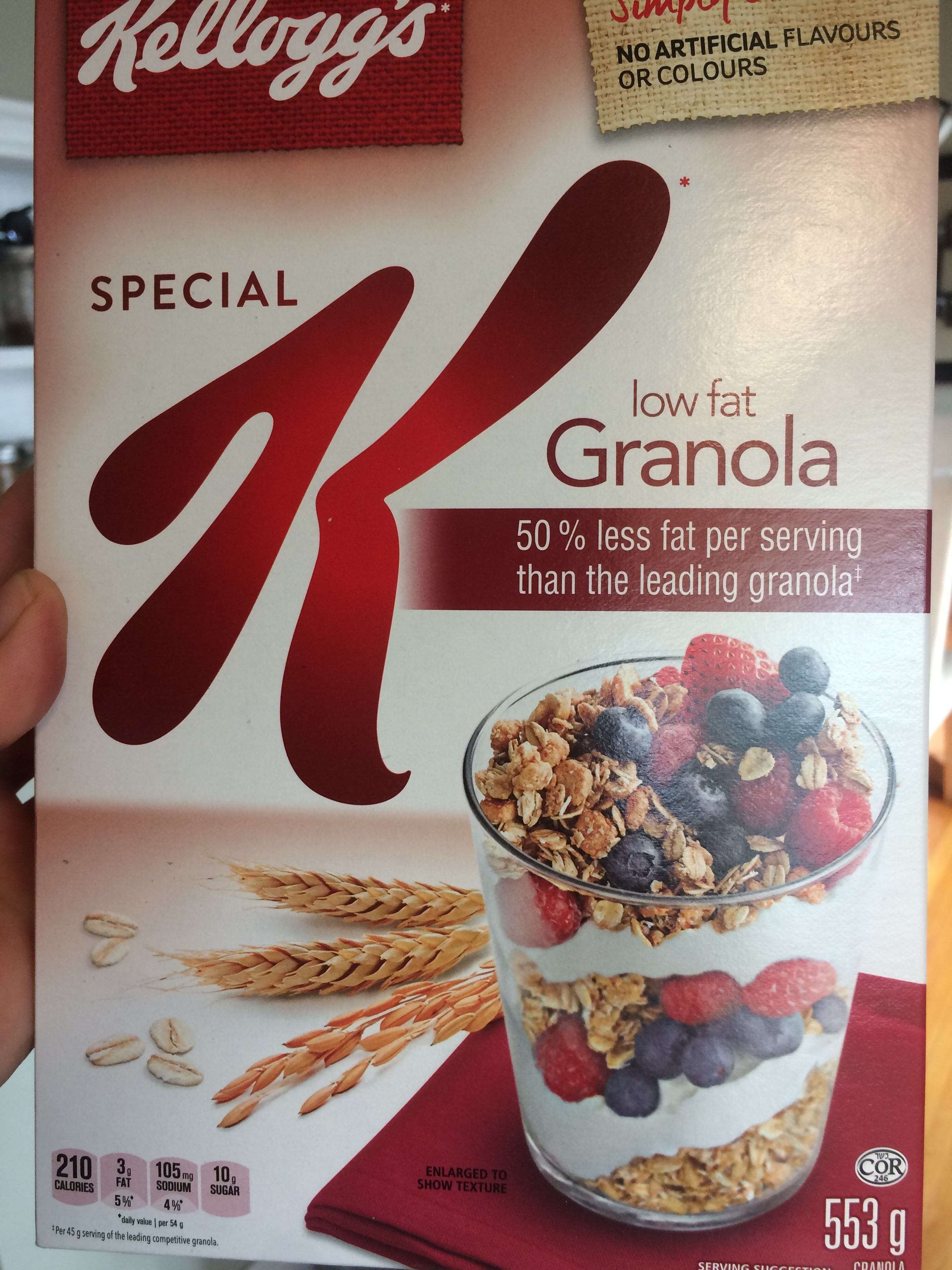 Low Fat Granola Cereal 36