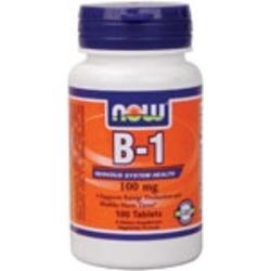 Now B-1 100mg Thiamine vitamins