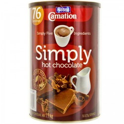 Nestle Carnation Simply Hot Chocolate
