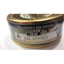 Clover Leaf Gourmet Flaked White Tuna - Jalapeno