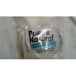 Pure & Natural Crystal Deodorant Stone