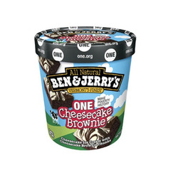Ben & Jerry's One Cheesecake Brownie Ice Cream