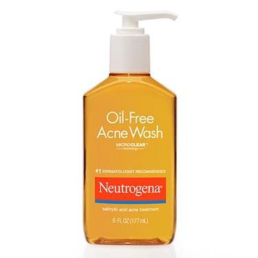 Neutrogena Oil Free Acne Wash