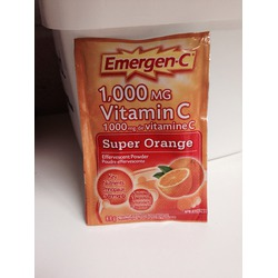 Emergen-C 1000 mg Vitamin C Travel Box