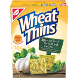 Wheat Thins Spinach and Roasted Garlic Crackers