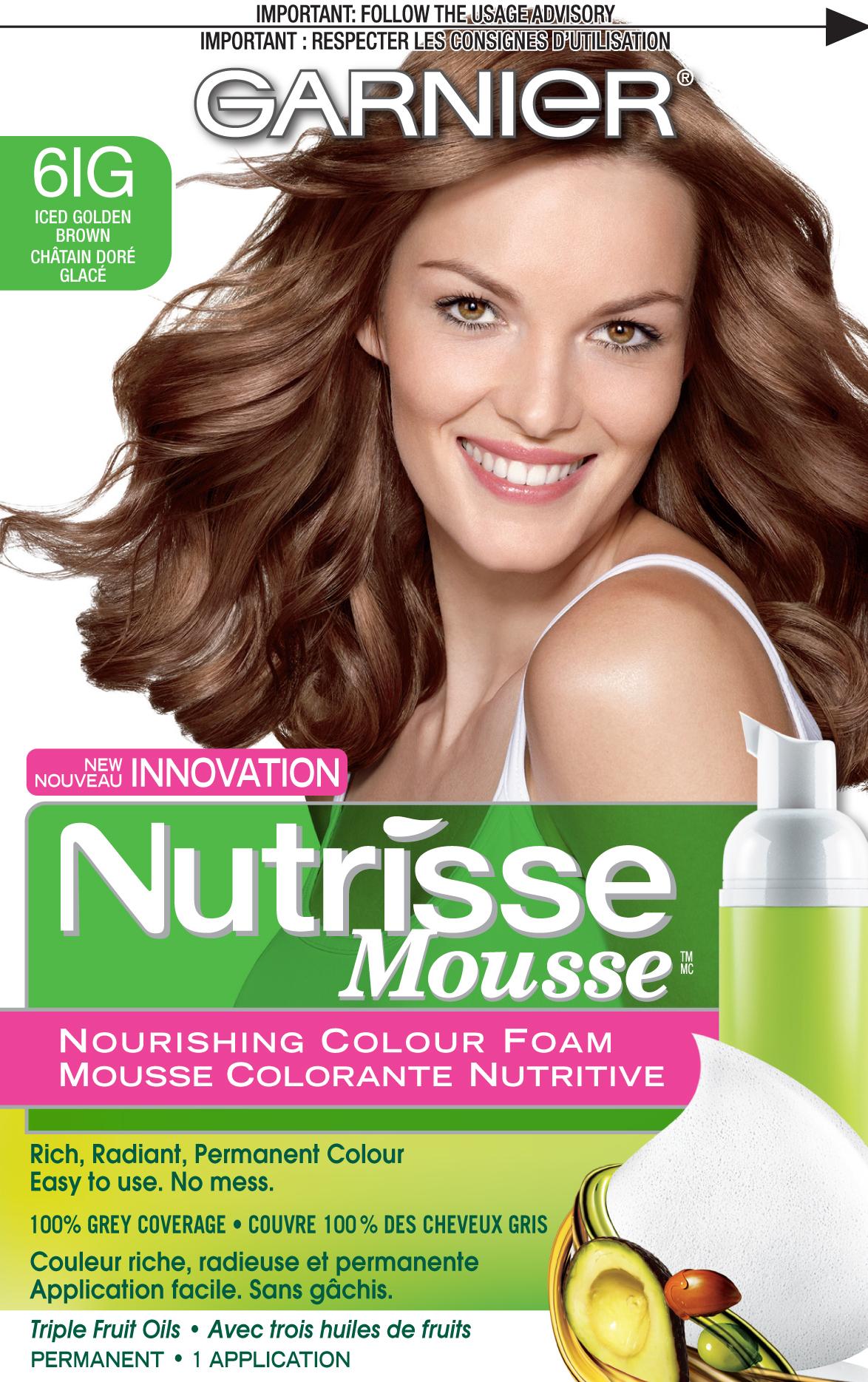 Garnier Nutrisse Mousse Nourishing Color Foam reviews in Hair Colour ...