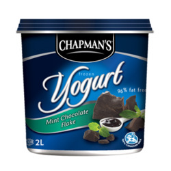 Chapman's Mint Chocolate Flake Frozen Yogurt