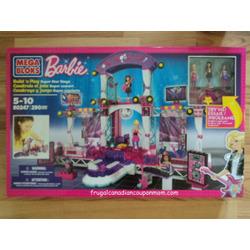 Mega Bloks Barbie Build 'N Play Super Star Stage