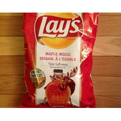 Lay's Maple Moose Chips