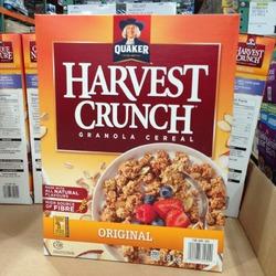 Quaker Harvest Crunch Cereal Original