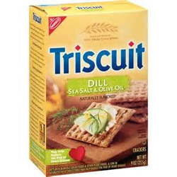 Triscuit Crackers - Dill, Sea Salt & Olive Oil