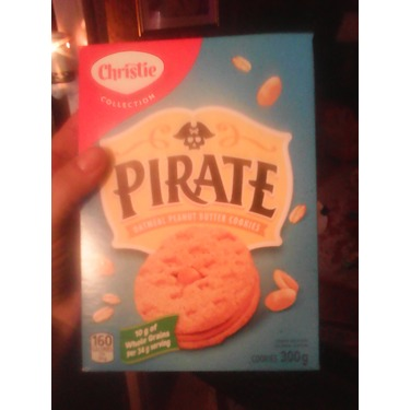 Christie Pirate Oatmeal Peanut Butter Cookies