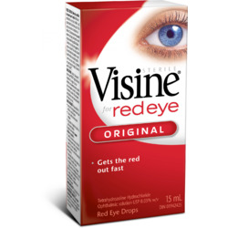 VISINE Original Red Eye Drops