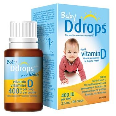 Baby Ddrops Liquid Vitamin D3