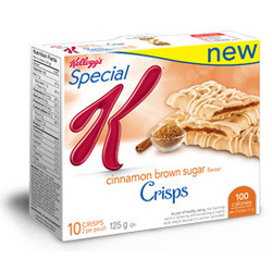 Kellogg's Special K Crisps Cinnamon Brown Sugar