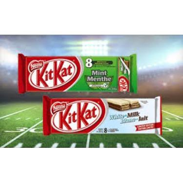 Kit Kat Mint Chocolate Bars