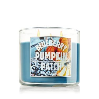 Bath & Body Works Blueberry Pumpkin Candles