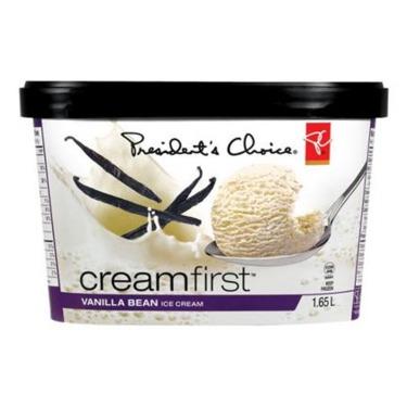 Presidents Choice Vanilla Bean Ice Cream