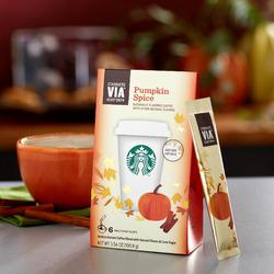 Starbucks VIA Pumpkin Spice
