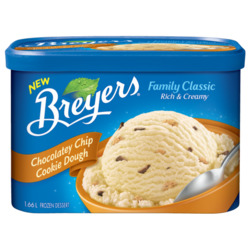 Breyer's Family Classic Chocolatey Chip Cookie Dough Frozen Dessert