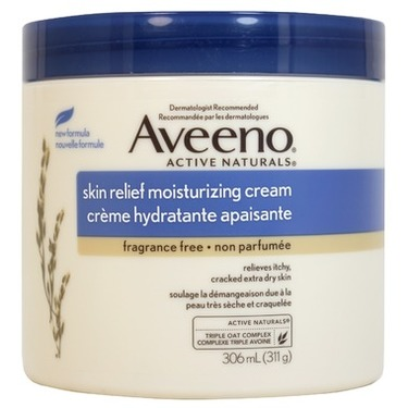 Aveeno Skin Relief Moisturizing Cream Fragrance Free