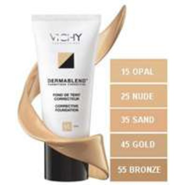 Vichy Dermablend Corrective Foundation Reviews In