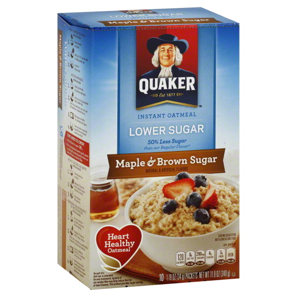 Quaker Instant Oatmeal Maple and Brown Sugar reviews in ... Quaker Instant Oatmeal Maple And Brown Sugar