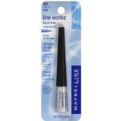 Maybelline Waterproof Liquid Eyeliner