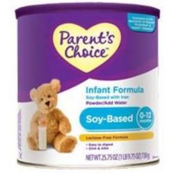 Parent's Choice Infant Formula