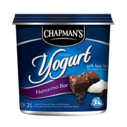 Chapman's Nanaimo Bar Frozen Yogurt