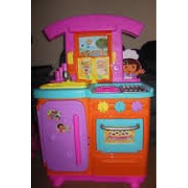 Fisher Price Dora The Explorer Talking Kitchen Reviews In Toys