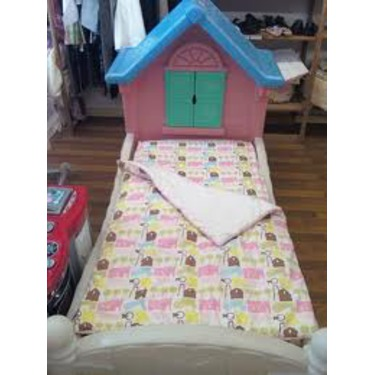 little tikes story cottage twin bed