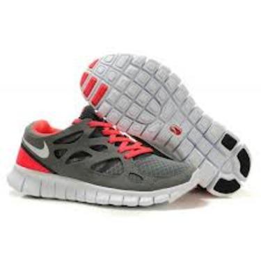 Nike Free Run 2 Grey and Red