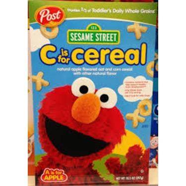 Post Sesame Street C is for Cereal Elmo