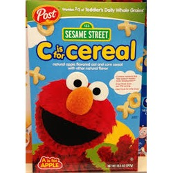 Post Sesame Street C is for Cereal Elmo