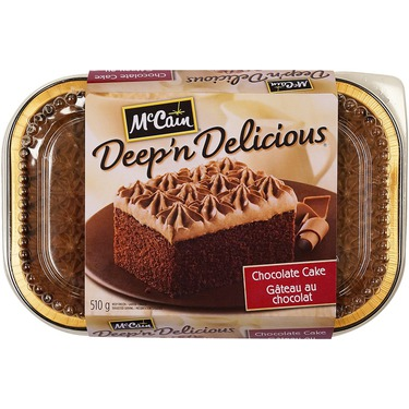 McCain Deep 'n Delicious Chocolate Cake