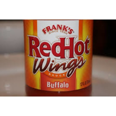 Frank's Red hot Wing sauce