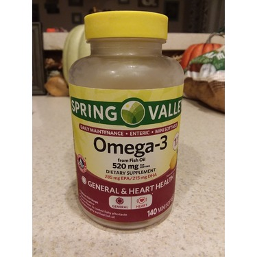 Spring Valley Omega 3 Fish oil 1200mg