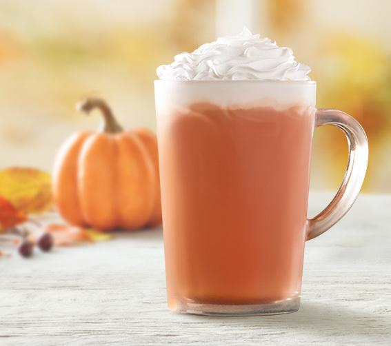 Pumpkin Spice Hot Chocolate Tim Hortons