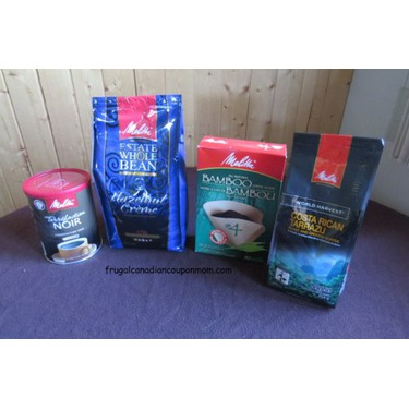 Melitta coffee products