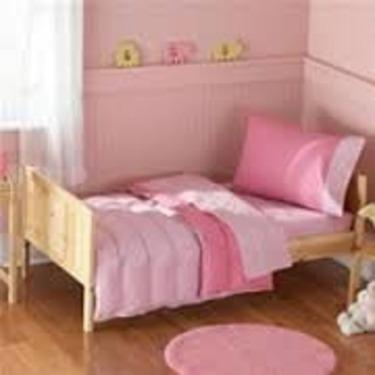 Bean Sprout Toddler Pink bedding