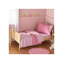 Bean Sprout Toddler Pink bedding